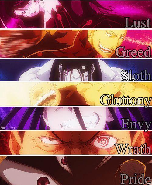 -Seven Deadly Sins-